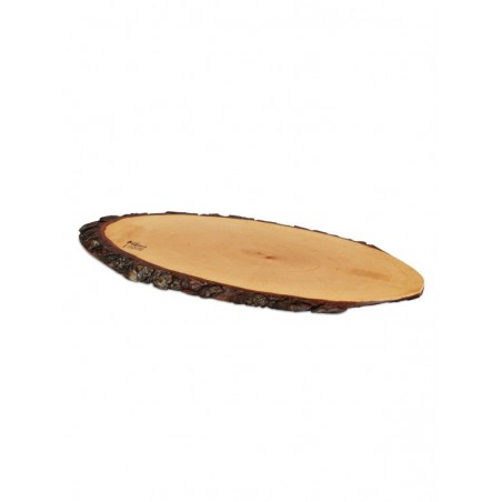 "BOSKA: TABLA TRONCO PARA QUESO ""L"" 56-65cm. BARK Ref.365665"