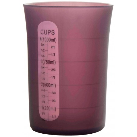 VASO DE MEDIDAS FLEXIBLE 1000ml. Ref.790212