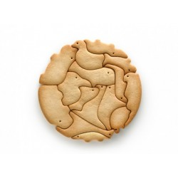 nuevo LEKUE: COOKIE PUZZLE ANIMALS
